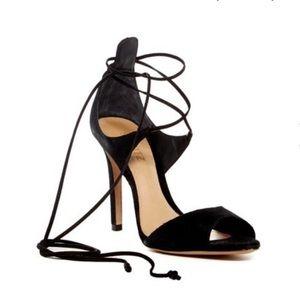 Schutz Moony Heel in Black - Size 7